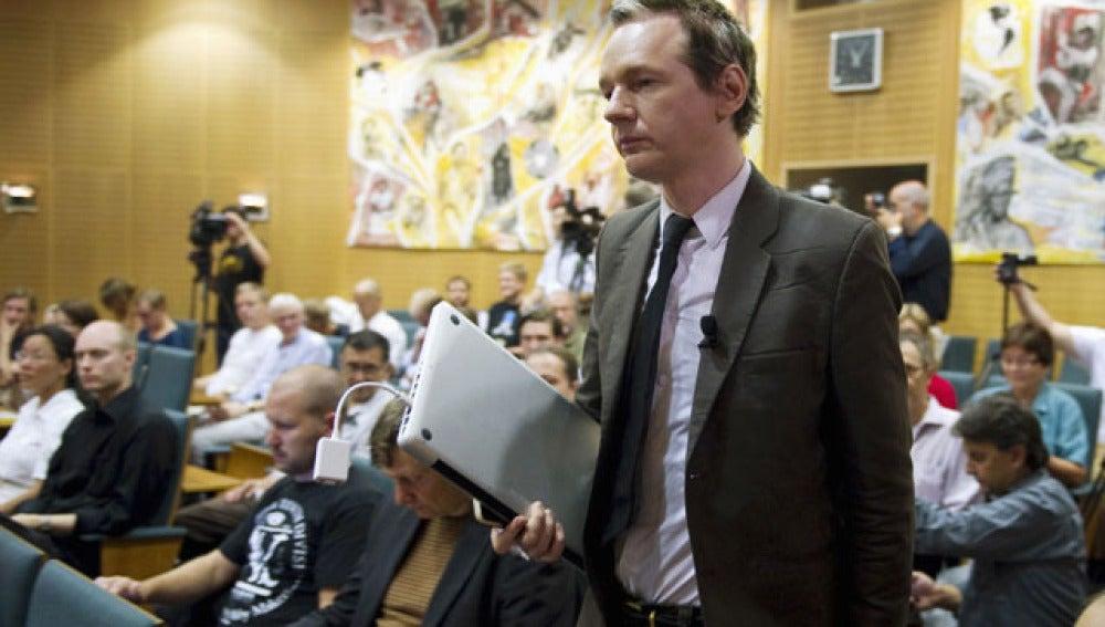 El fundador de Wikileaks, el australiano Julian Assange