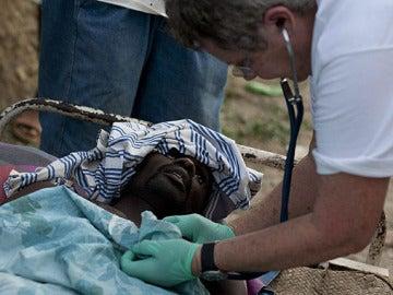 Haití, enferma de cólera