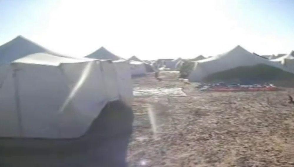 El ejército marroquí cerca campamentos saharauis