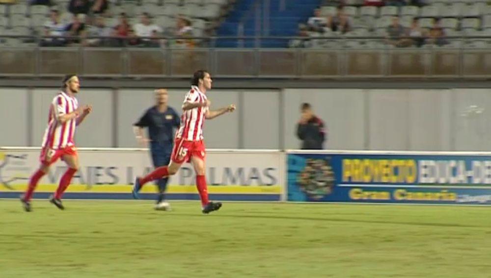El atlético goleó al Universidad de Las Palmas