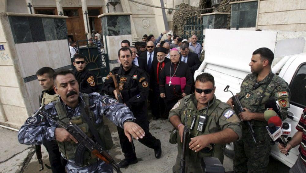Ataque en una iglesia del centro de Bagdad