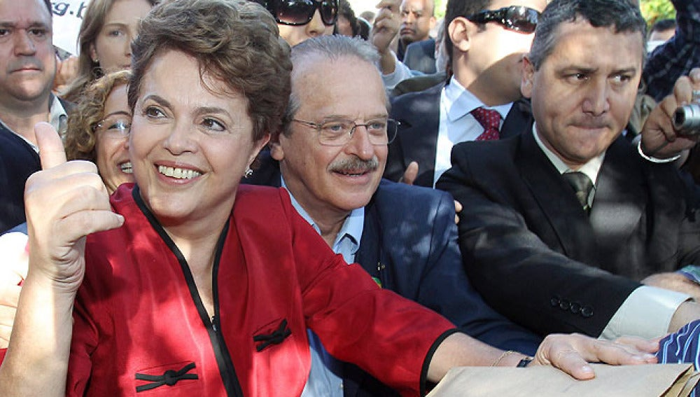 Dima Rousseff, presidenta electa de Brasil