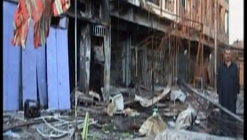 Cadena de atentados en Bagdad