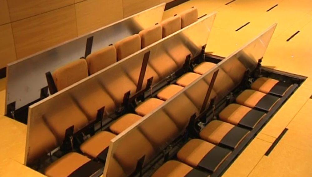 El Alfredo Krauss estrena sala triangular con butacas que se ocultan