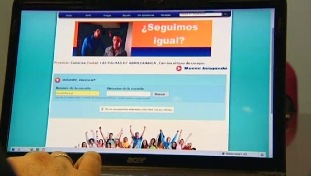 Dos alumnos de informática crean una red social para buscar amigos
