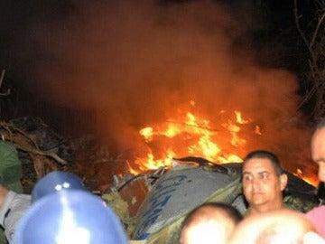 Un avión se estrella en Cuba con 68 pasajeros