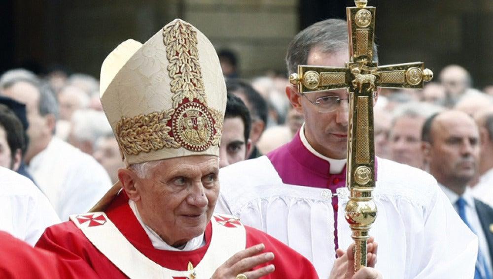Benedicto XVI en Santiago