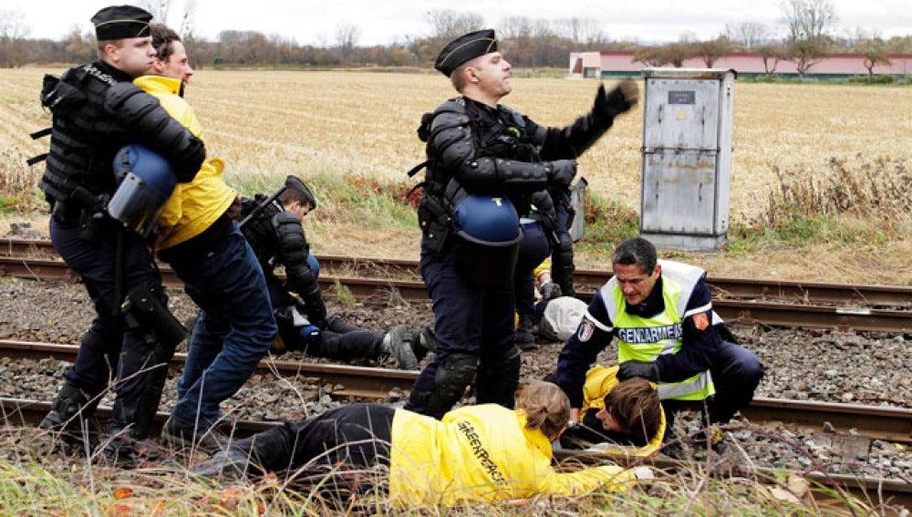 Antinucleares se manifiestan en Alemania