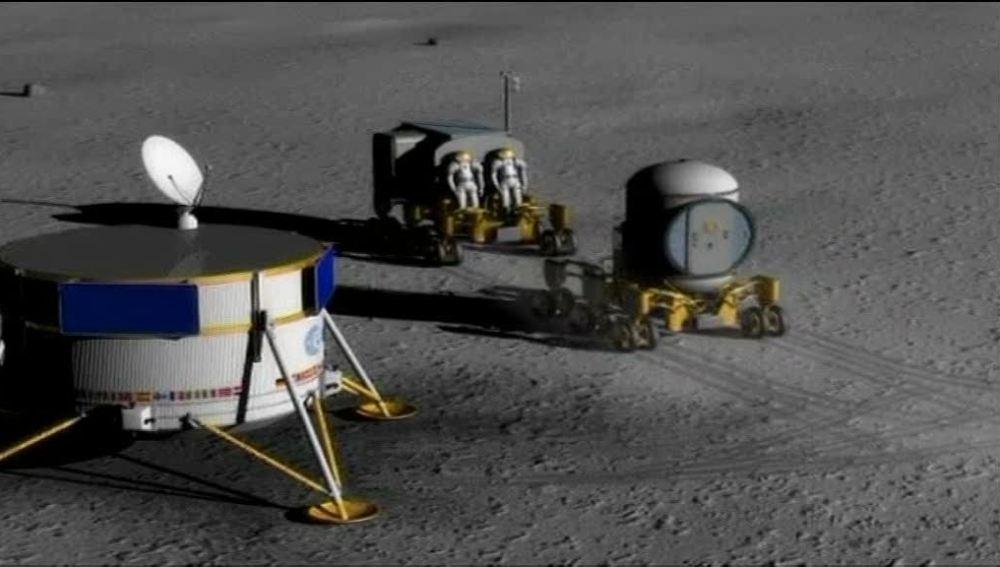 Próxima estación: la Luna