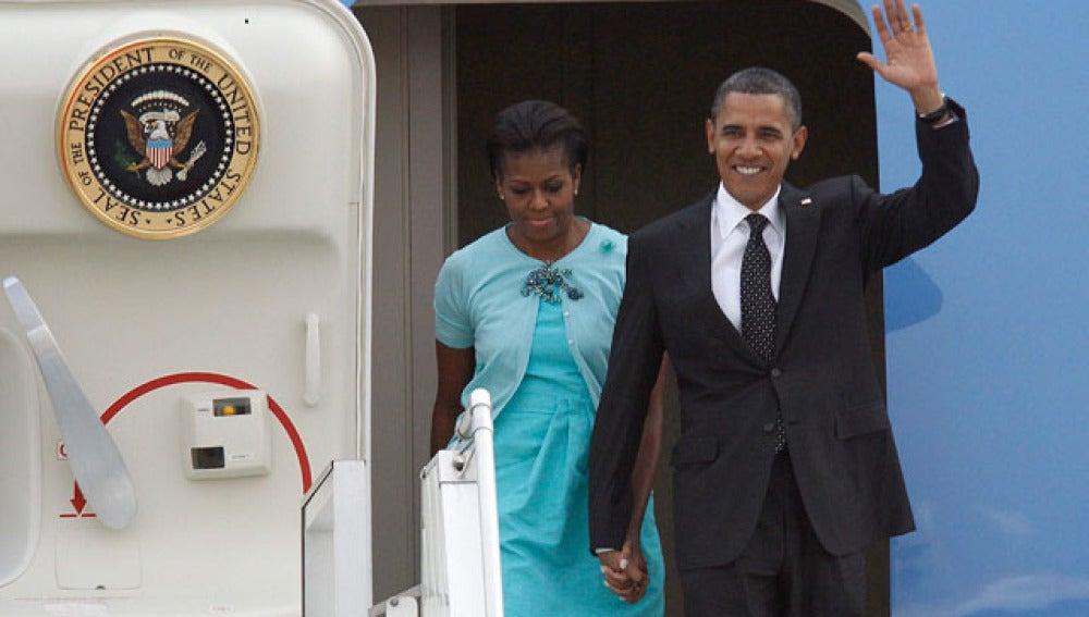 Obama visita la India