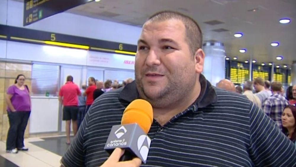 Caos durante el fin de semana en el aeropuerto de Gran Canaria
