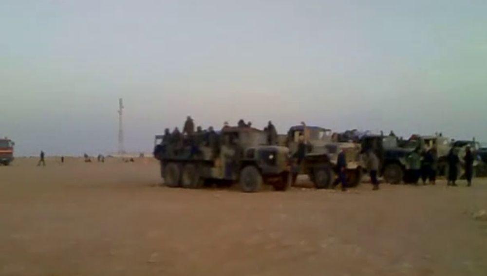 13 muertos y decenas de heridos en el desmantelamiento del campamento saharaui