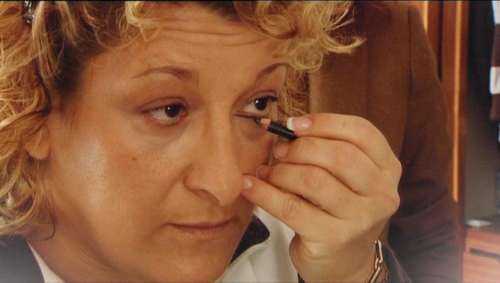 El maquillaje de Mari Paz