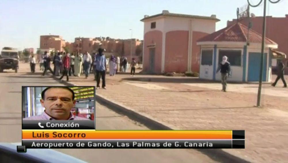 Equipo de Antena 3 Canarias se desplaza a El Aaiún