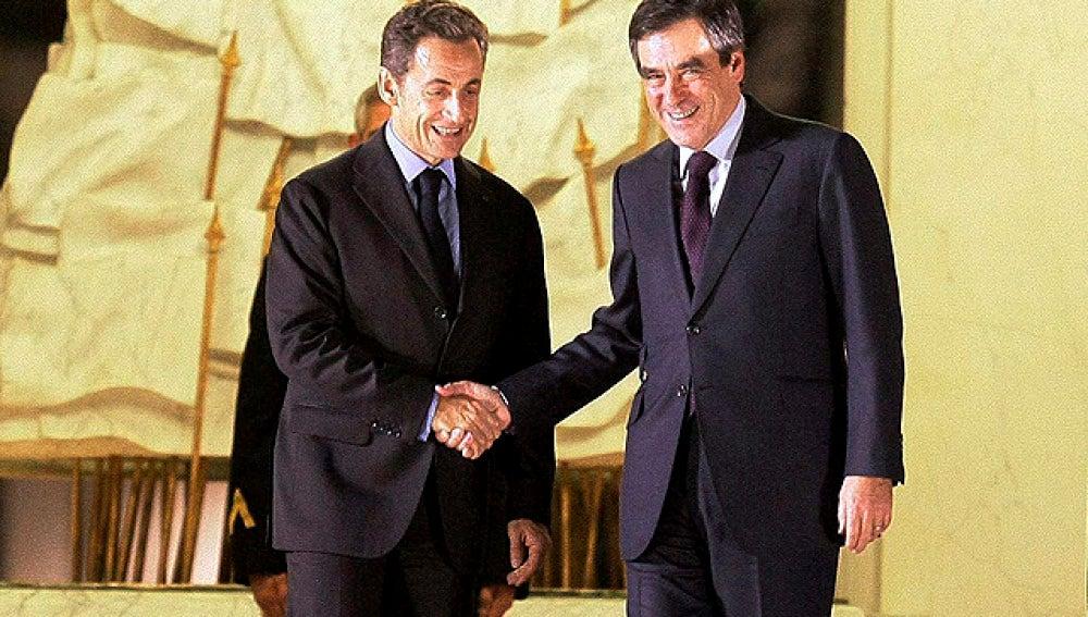 Sarkozy y Fillon