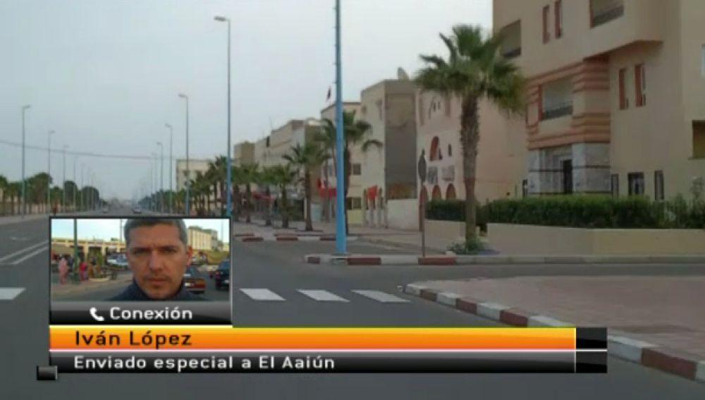 Un equipo de Antena 3 Canarias en El Aaiún
