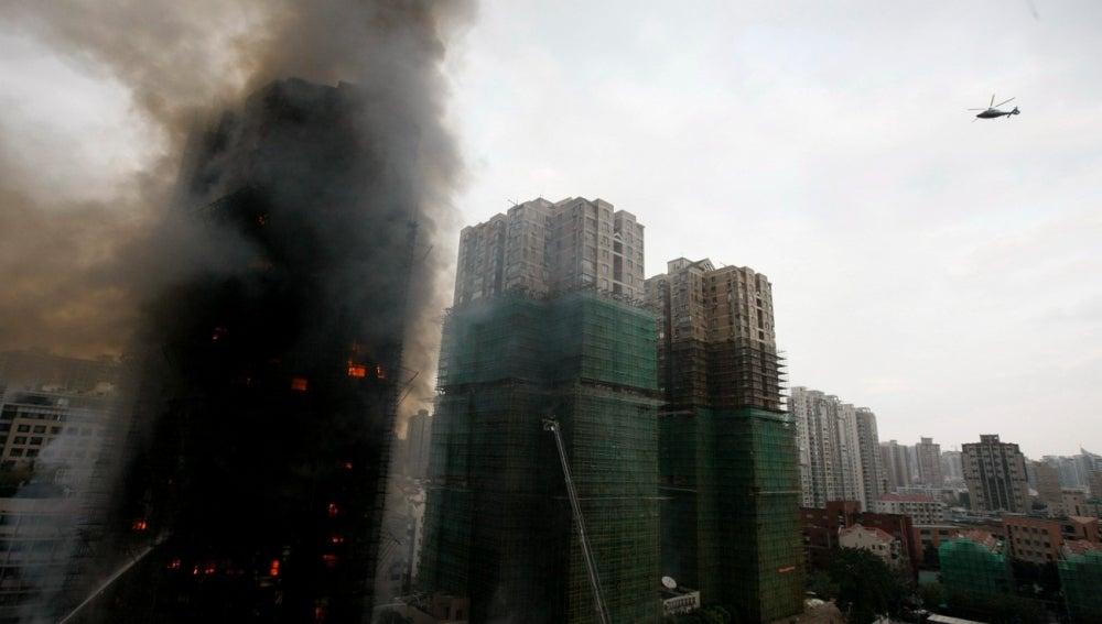 El coloso asiático en llamas
