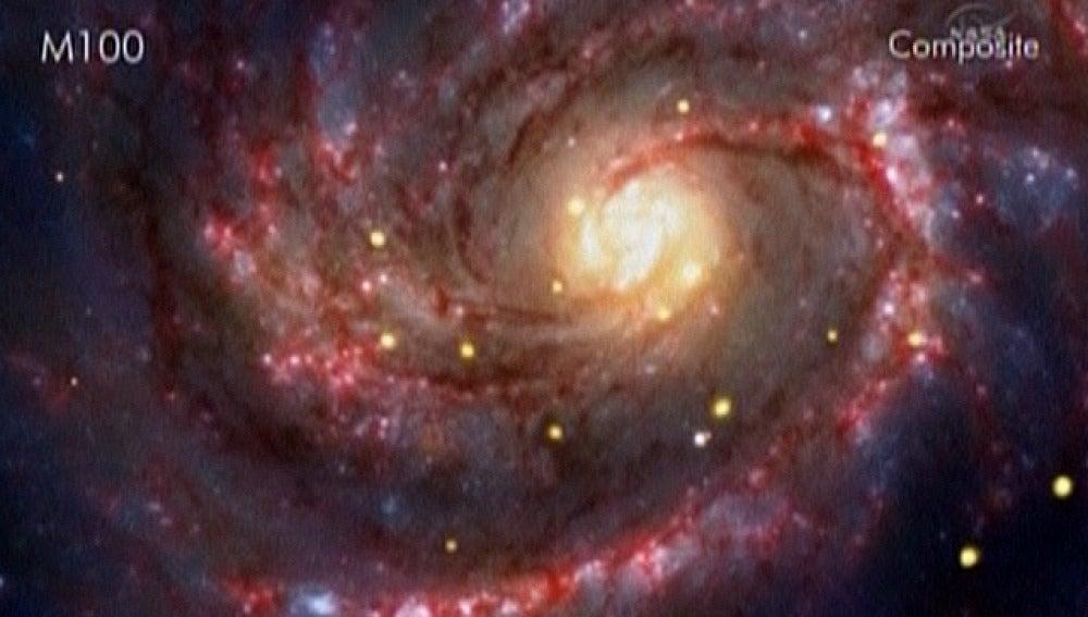 Agujero negro descubierto por la NASA