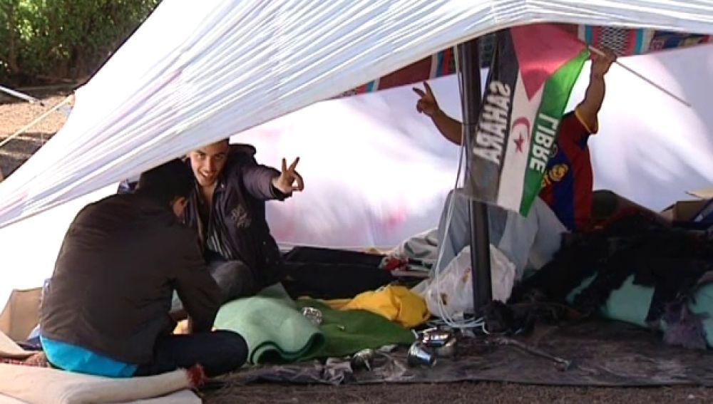 Campamento en Canarias