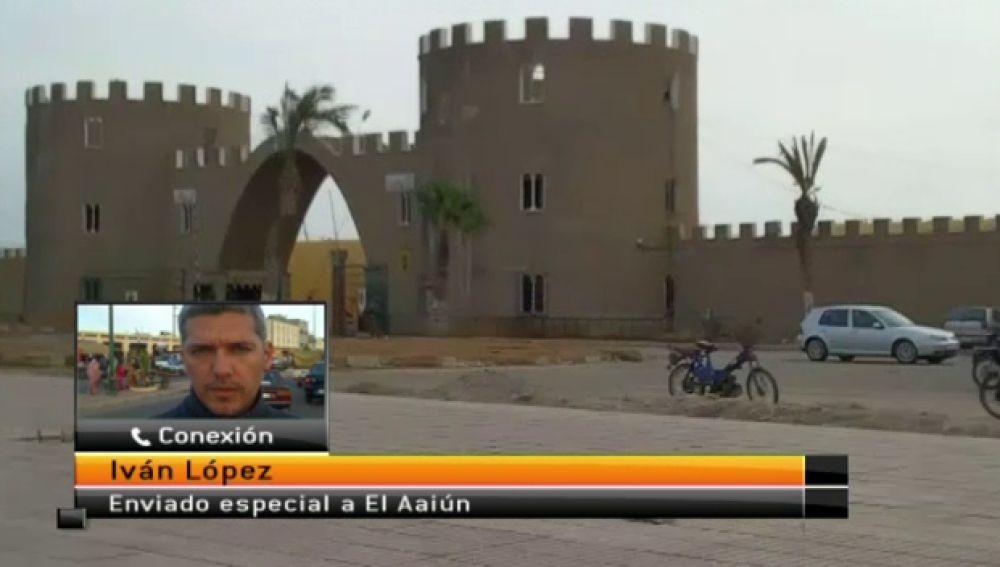 Equipo Antena 3 desplazado a El Aaiún