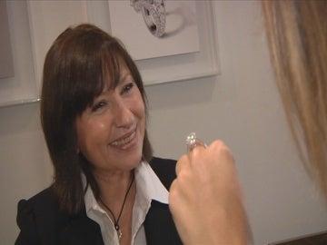 En la joyería Cartier