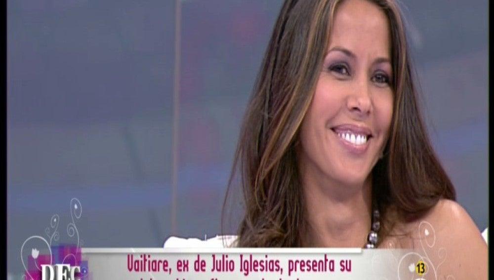 Vaitiare, ex de Julio Iglesias