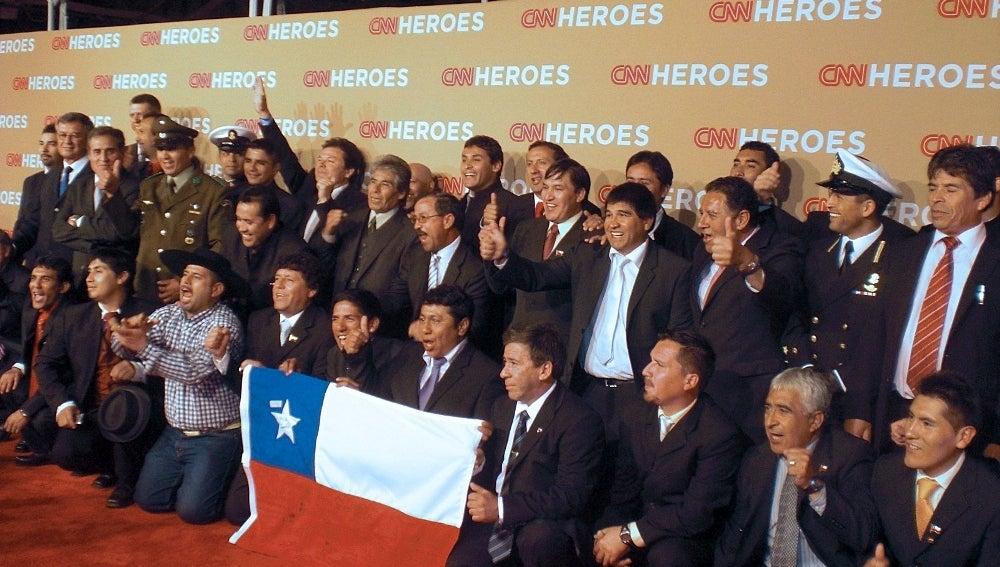 Los mineros de Chile en Hollywood