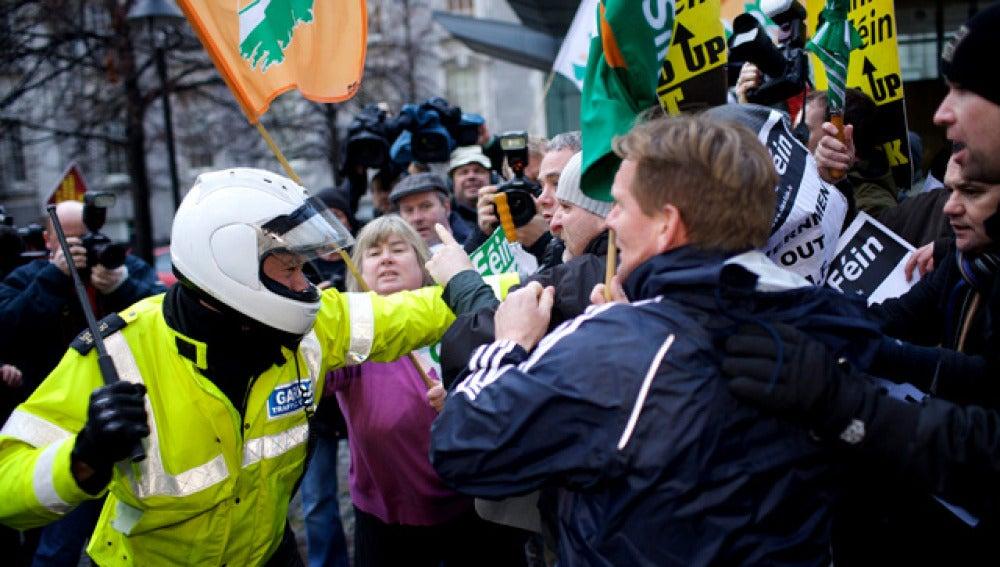 Disturbios en Irlanda