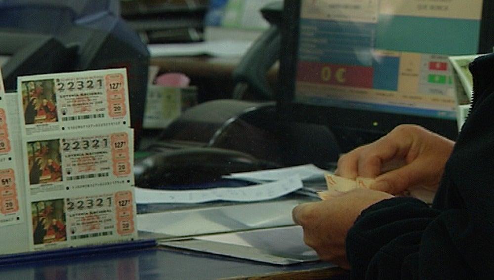 Una oficina de Loteria