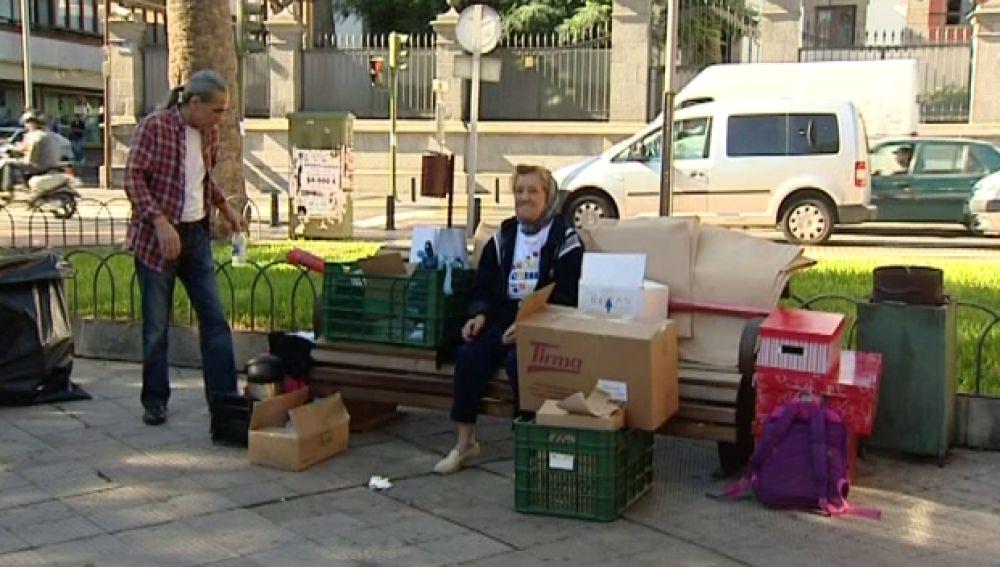 Cáritas pide a todos que colaboremos con las personas sin hogar