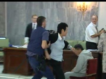 La madre de In Sil Oh perdió los nervios en el juicio