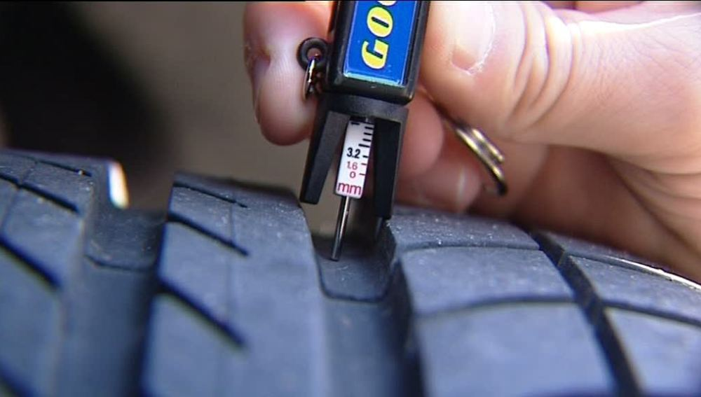 neumáticos de los vehículos