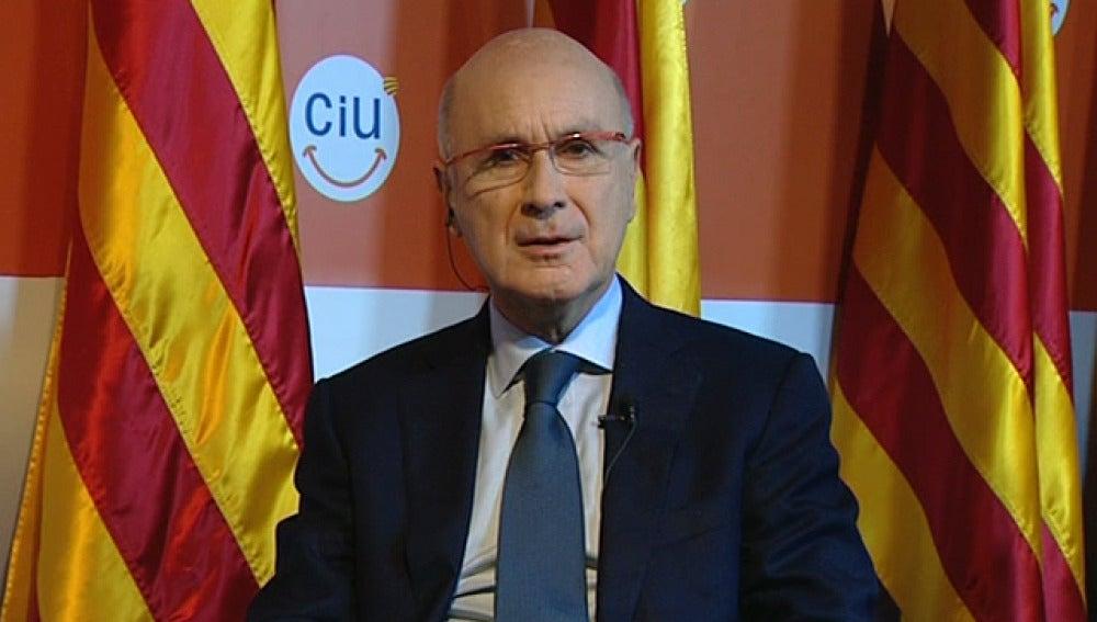 Duran i Lleida, portavoz de Ciu