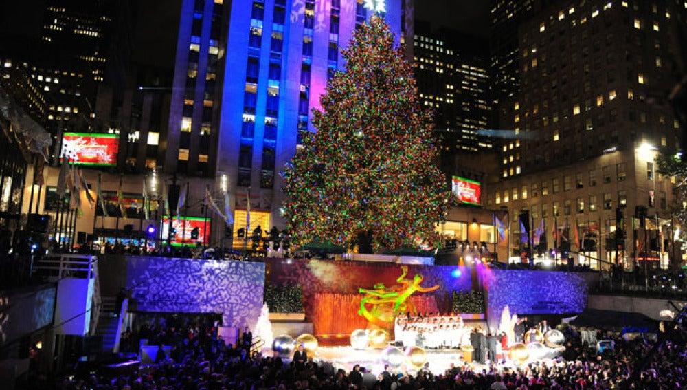 Árbol de Navidad en Rockefeller Center