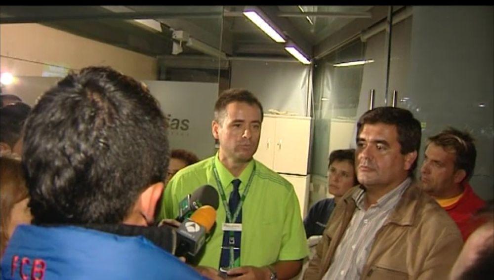 Unas 200 personas llevan 3 días esperando a volar a El Hierro