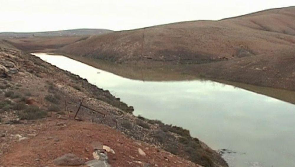 Las presas de Fuerteventura recogen más de 130 millones de litros