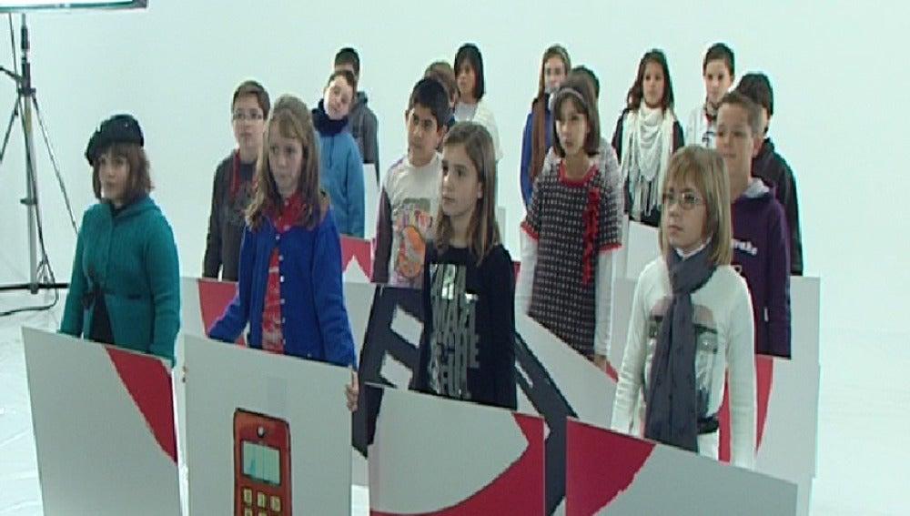 Alumnos de Murcia graban spot