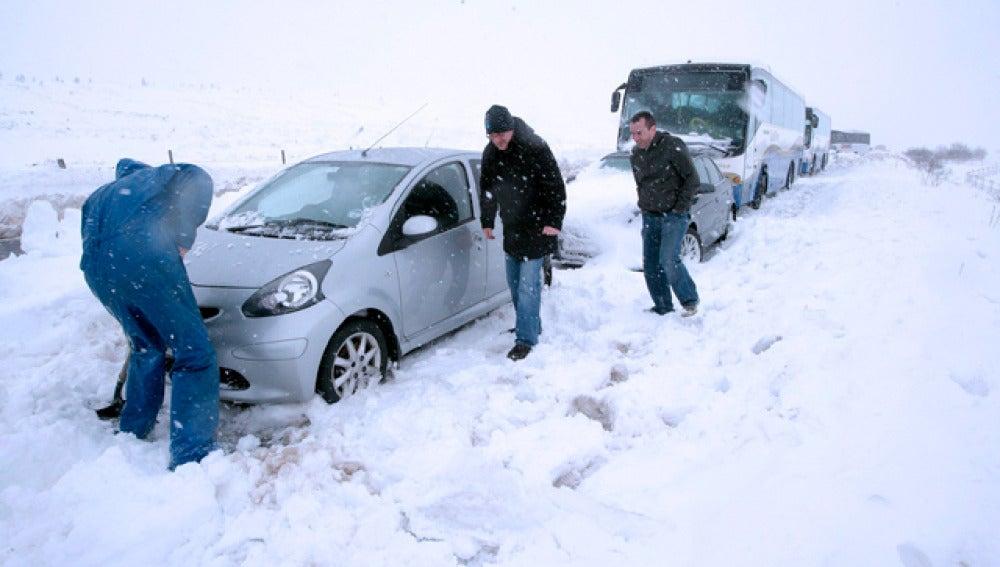 Temporal de nieve en Canadá