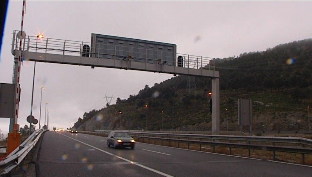 Radares en autopista