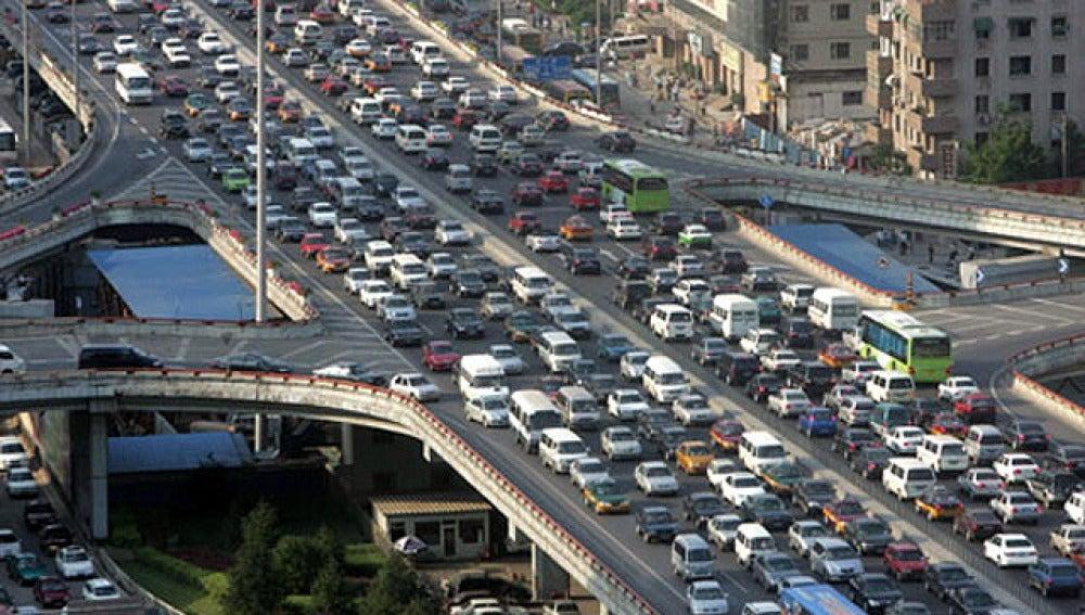 Limitación de coches en China