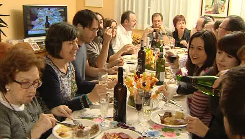 Comida familiar en Zaragoza