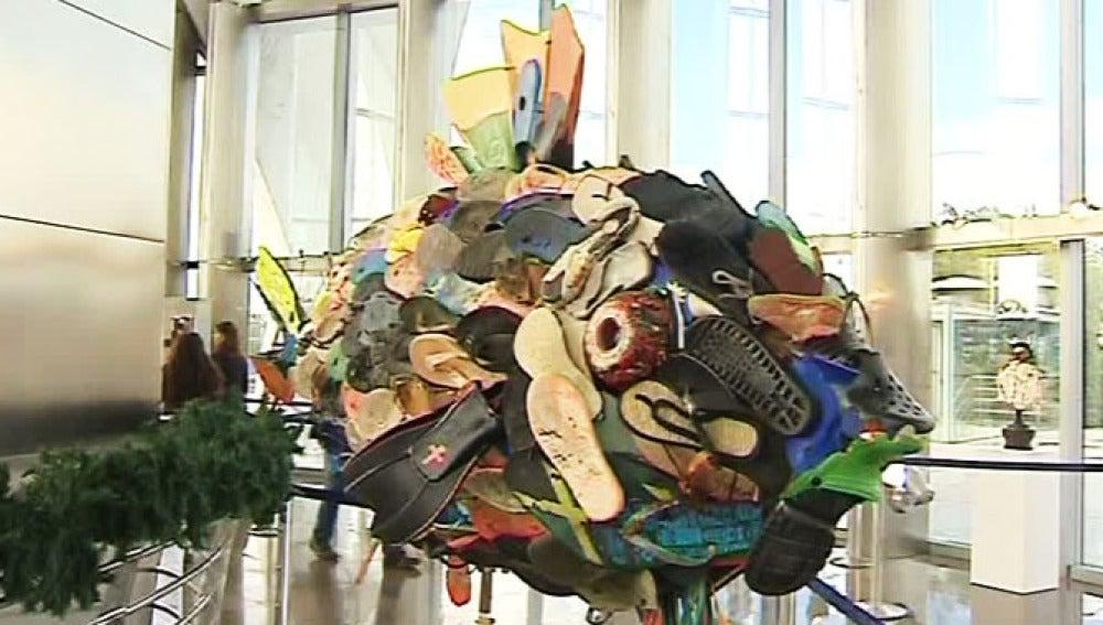 Arte a partir de basura