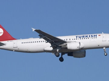 Un avión de Turkish Airlines