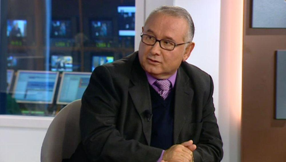 José Antonio Santana. Presidente Fecao