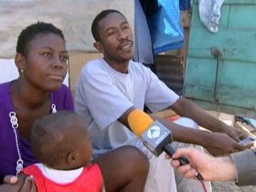 La situación de las familias en Haití