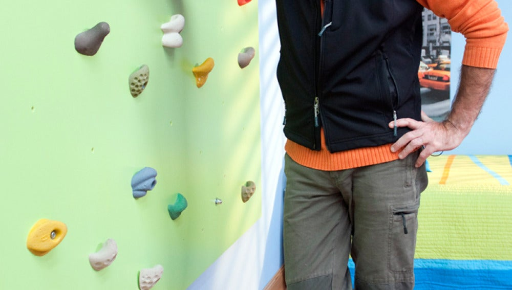 Bricomanía te enseña a instalar un panel de escalada
