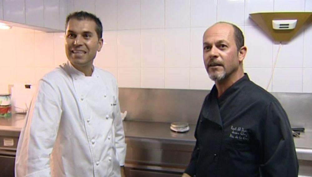 Jesús González y Pedro Rodríguez juntos en unas jornadas de recuerdos