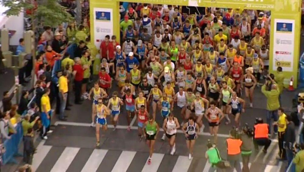 Los keniatas se hacen con la Maratón de Gran Canaria