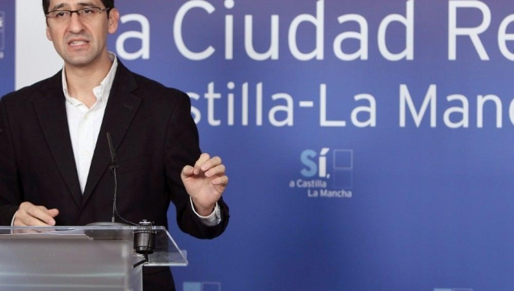 El secretario de Organización del PSOE de Castilla-La Mancha, José Manuel Caballero