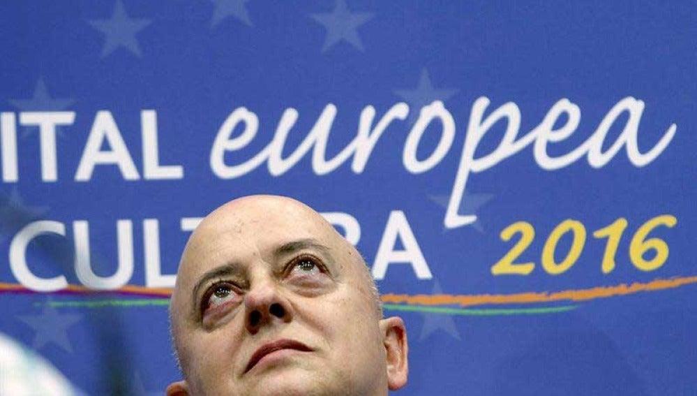 Odón Elorza en la elección de San Sebastián